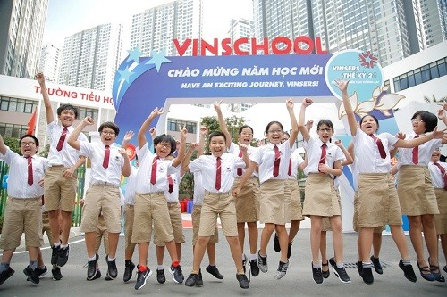 Vinschool in Ho Chi Minh City