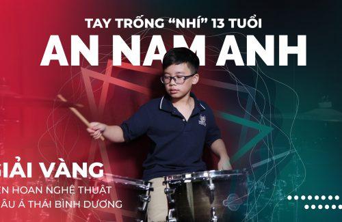 """Tay trống """"nhí"""" 13 tuổi giành giải Vàng Liên hoan Nghệ thuật Châu Á Thái Bình Dương"""