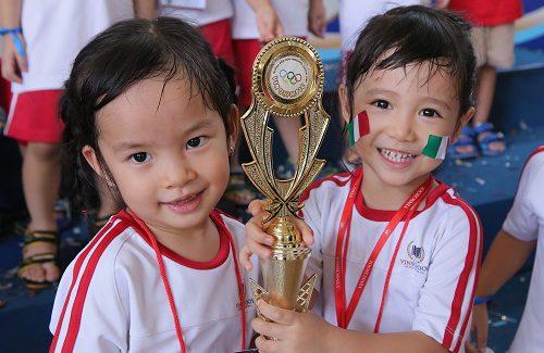 (HCM) Ngày hội thể thao Vin Olympics 2019 – Mầm non Vinschool Central Park