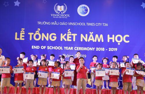 (HN)  Lễ Tổng kết năm học 2018 – 2019 – Mầm giáo Vinschool Times City T36