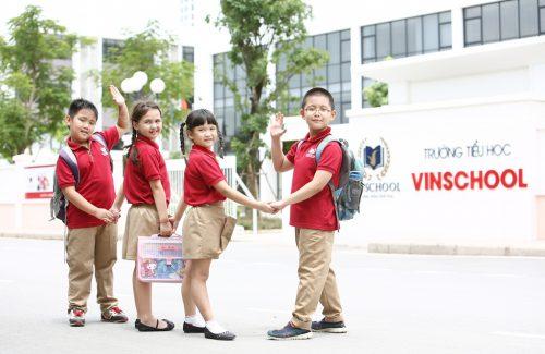 Cơ sở vật chất trường tiểu học Vinschool