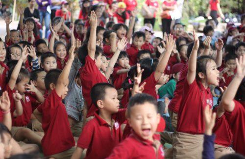 Hào hứng chuyến dã ngoại đầu tiên của học sinh trường Tiểu học Vinschool