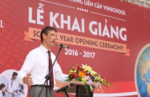 School year Opening Ceremony – Vinschool High school