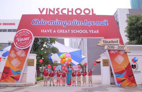 School year Opening Ceremony – Vinschool Primary school