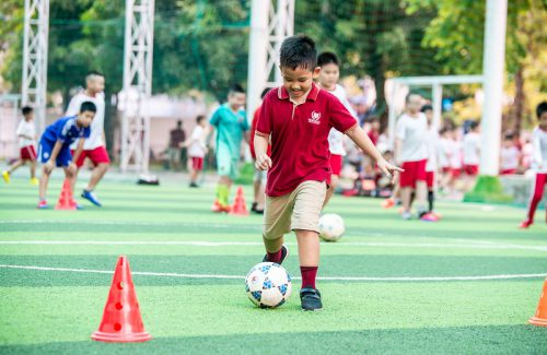The Physical Education Curriculum at Vinschool
