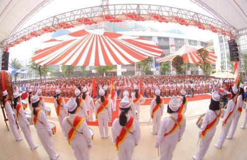 School Opening day 2014