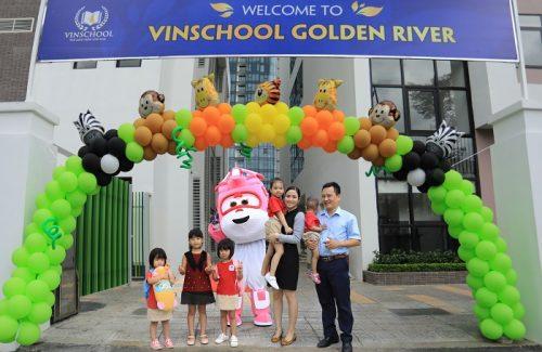 Khai trương trường Mầm non Vinschool Golden River tại Trung tâm quận 1 thành phố Hồ Chí Minh