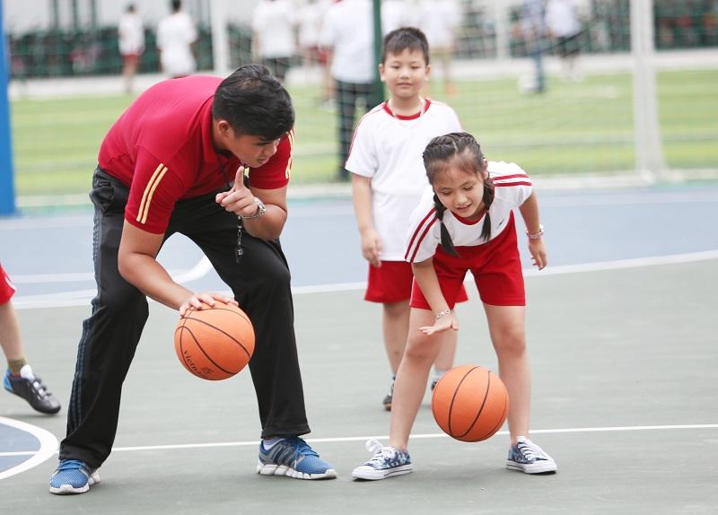clb bóng rổ tiểu học