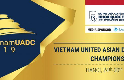 """Vinschool đồng tổ chức Giải Vô địch Tranh biện châu Á """"Vietnam UADC 2019"""" lần thứ 10 tại Việt Nam"""