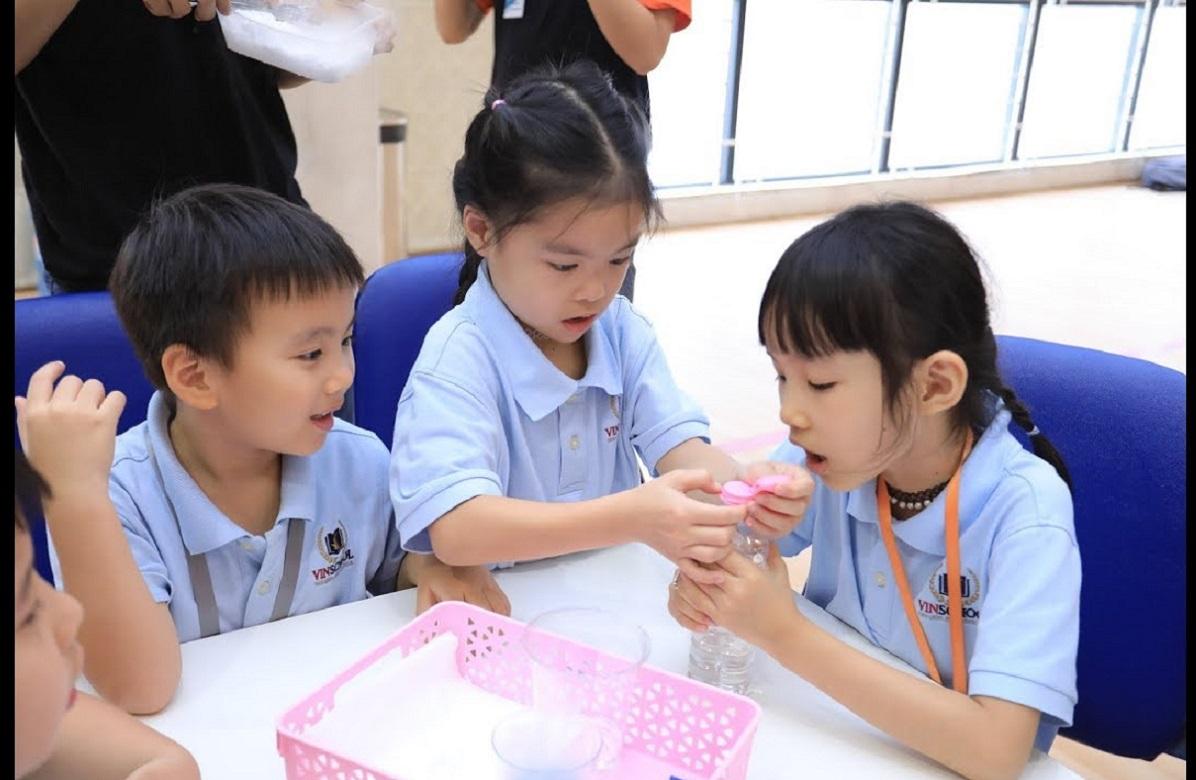 (HCM) Ngày hội Trải nghiệm STEM Fair 2019 – Tiểu học, Trung học Vinschool Central Park
