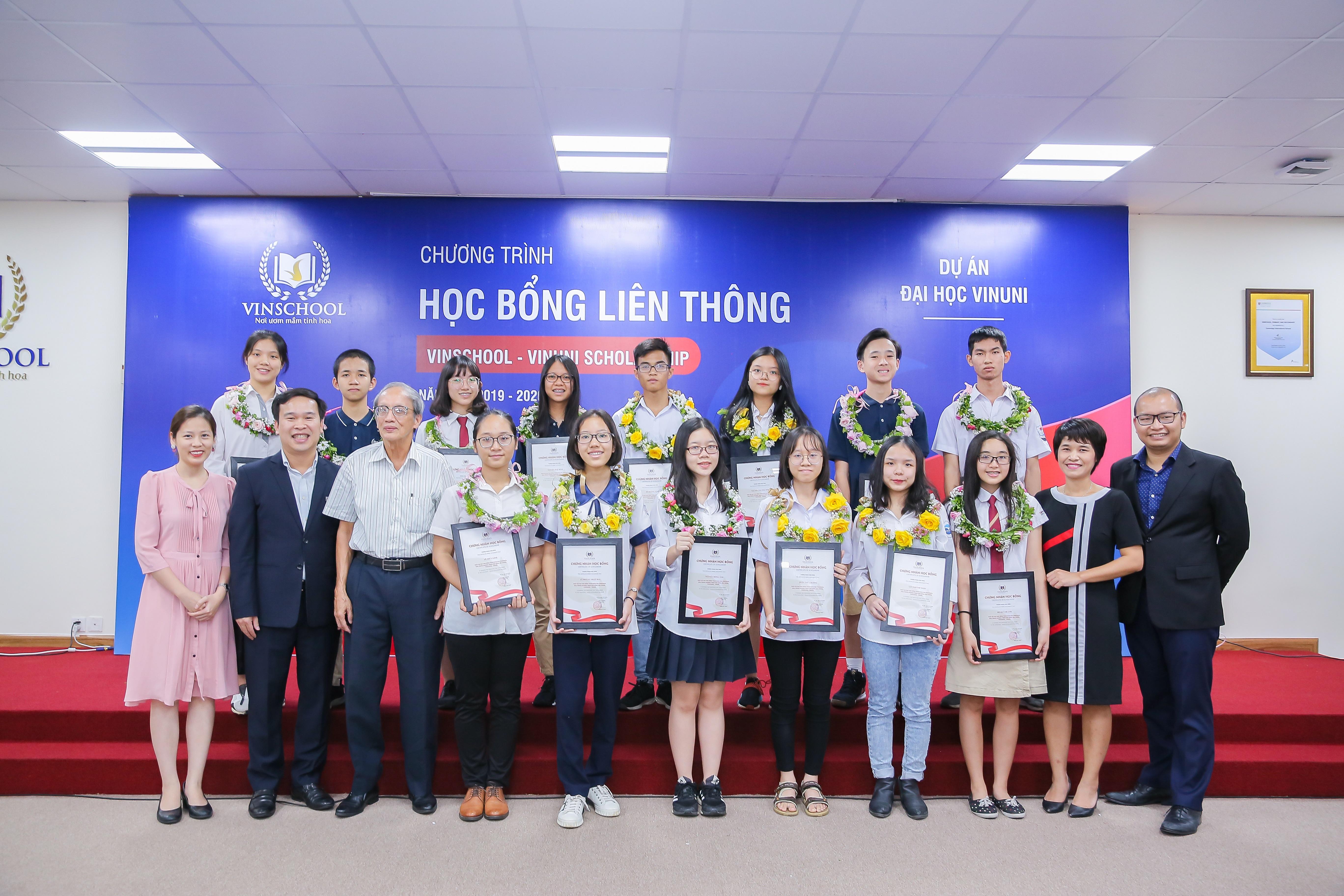 Chương trình Học bổng Liên thông Vinschool – VinUni năm học 2019 – 2020