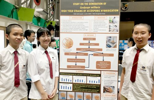 Vinsers Win Silver And Broze Medals On Their First Attempt At The International Scientific Research Competition