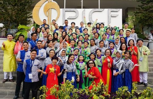 Vinschool One Choir left another mark on International Artistic Stage with PICF 2019 Gold Medal