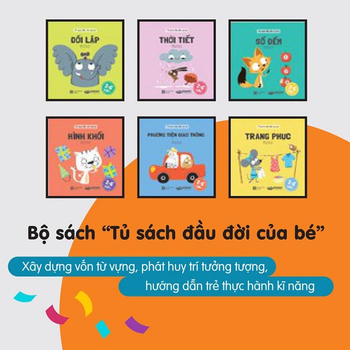 sách cho trẻ mầm non