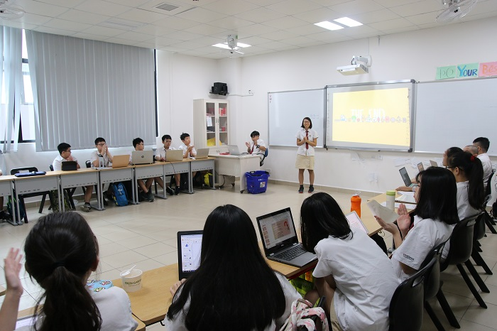 """Leadership Day at Vinschool Imperia Hai Phong: """"I'm so happy and proud to see my children's growth"""""""