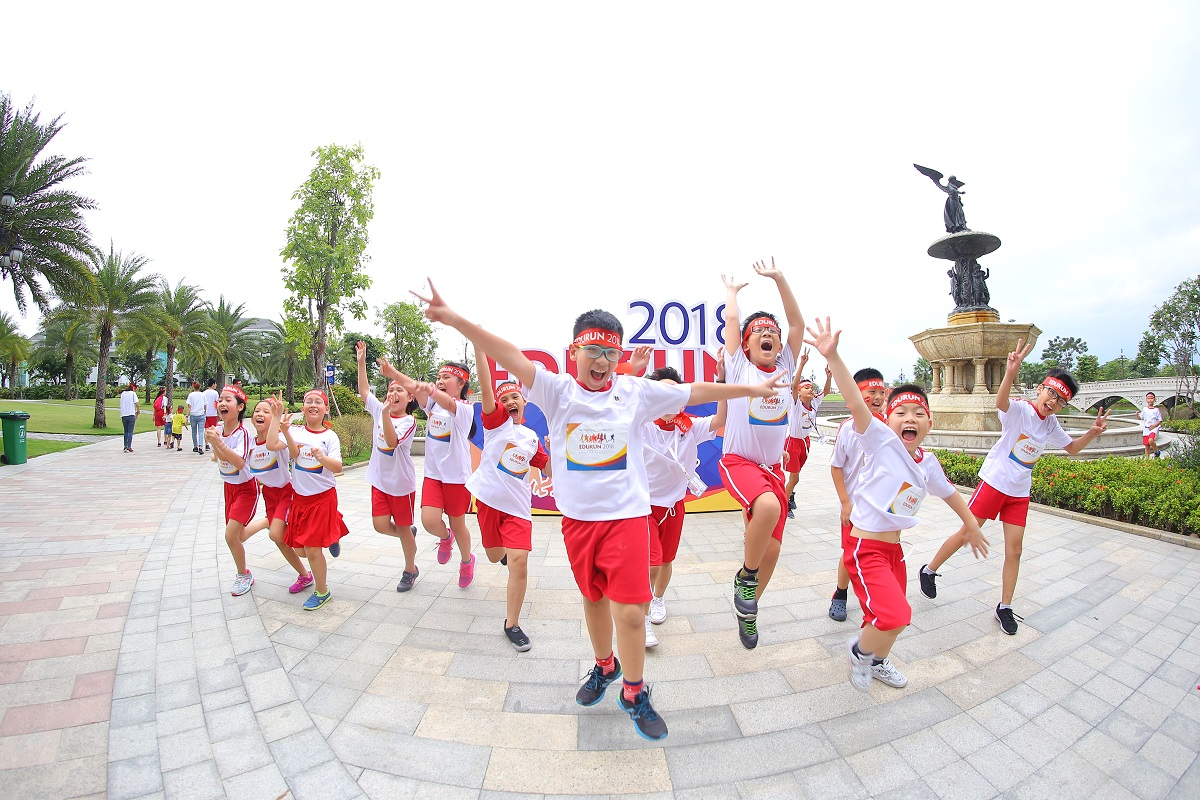 "EDURUN 2020 and the kick-off event ""30-day running challenge with Vinschool"""