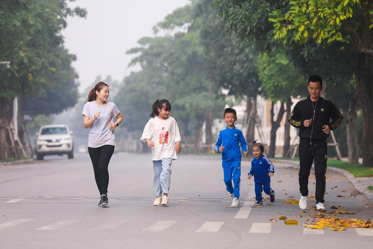 """""""EDURUN tạo tiền đề giúp các con duy trì thói quen tập luyện thể thao hàng ngày"""""""