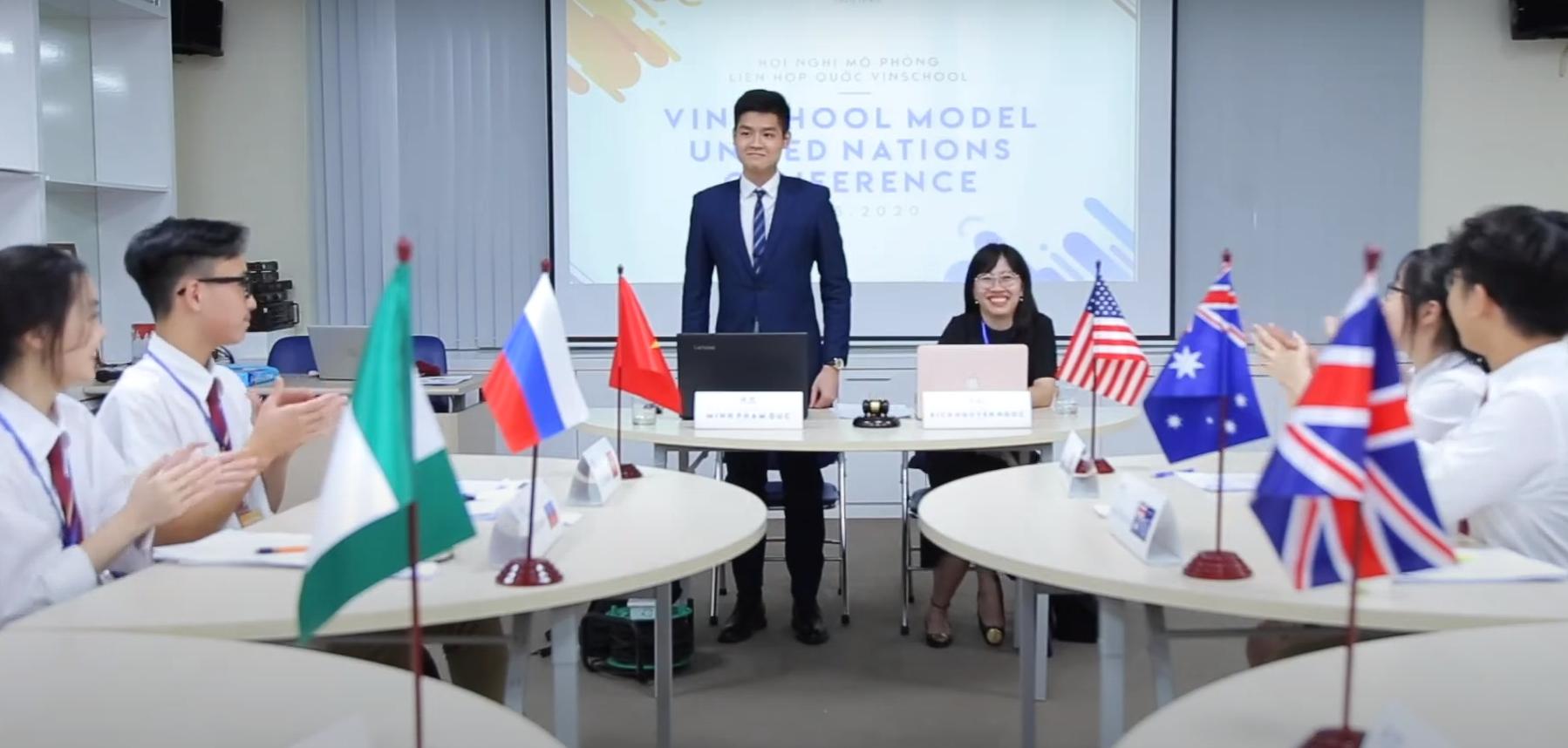 VINMUN 2020 – Hành trình đầy cảm xúc của Vinser tại Hội nghị mô phỏng Liên Hợp Quốc