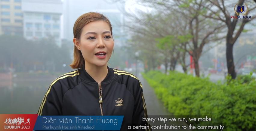 Đại sứ nói gì về giải chạy EDURUN 2020