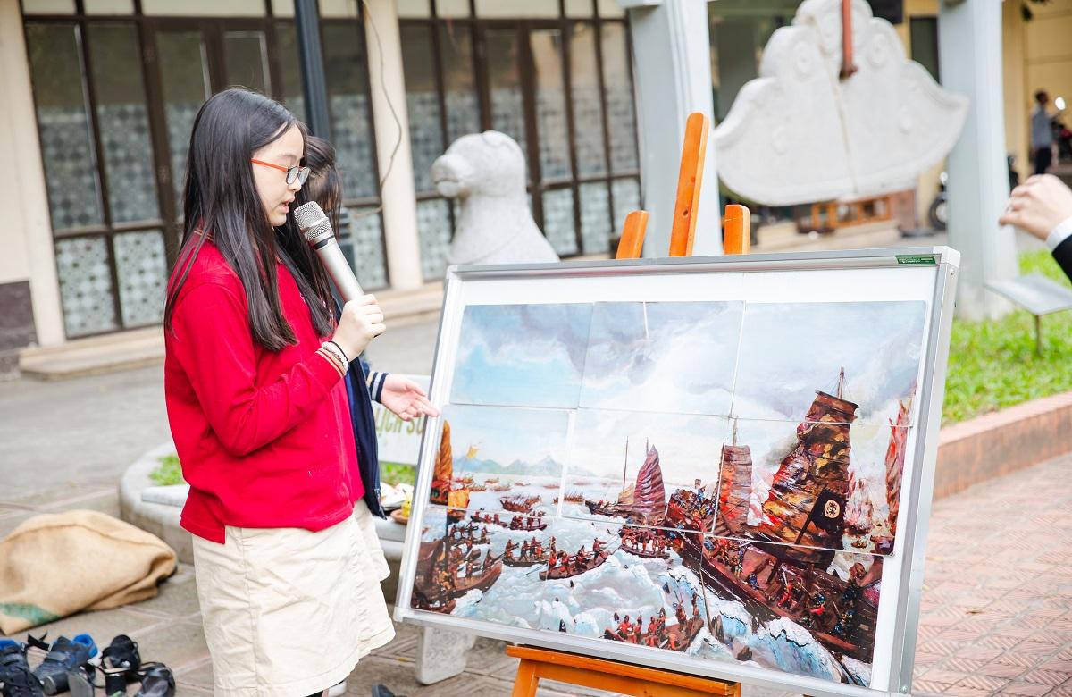 Trận Bạch Đằng lịch sử tái hiện sống động qua chuyến trải nghiệm tại Bảo tàng Lịch sử Quốc gia