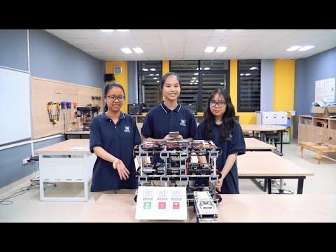 """Mô hình robot đạt thưởng """"kép"""" của Vinser tại World Robot Olympiad 2020"""