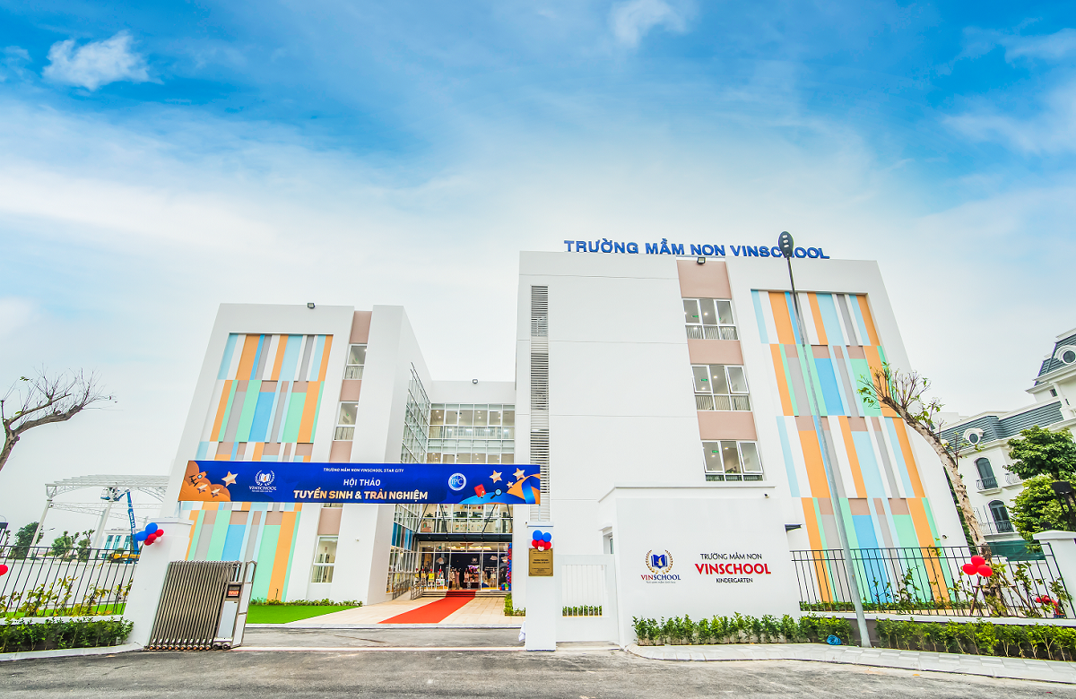 Vinschool Kindergarten now exists in Thanh Hoa