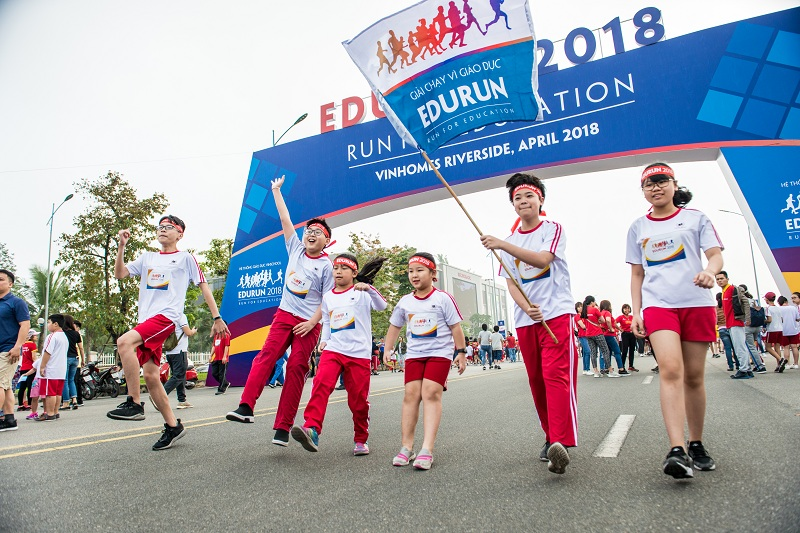GIẢI CHẠY EDURUN 2021: I RUN, I CARE, I SHARE