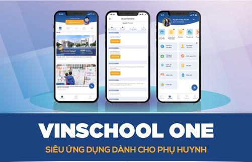 Vinschool One – Siêu ứng dụng dành cho phụ huynh