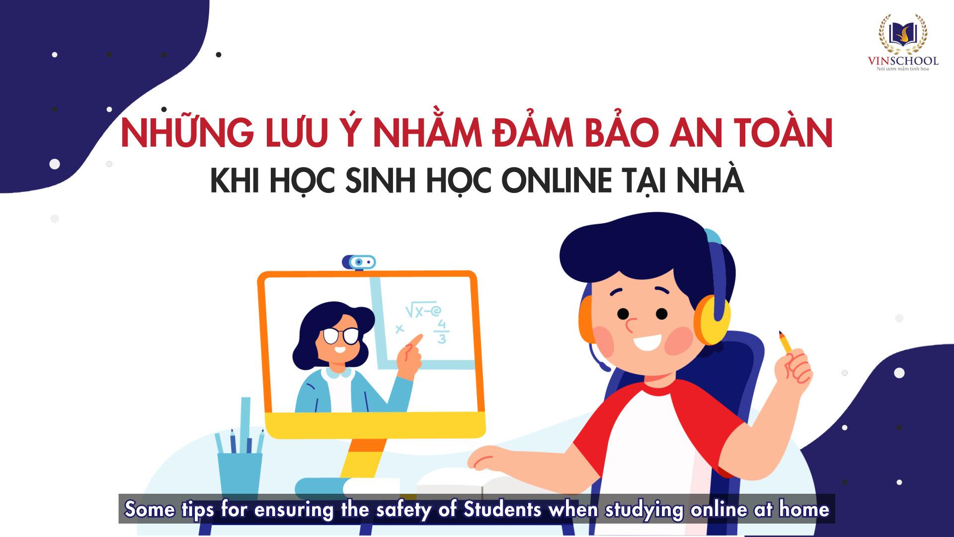 An toàn Thể chất khi học online tại nhà